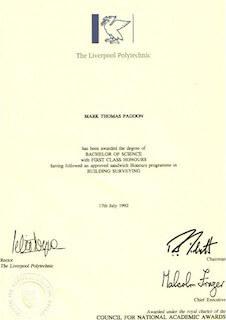 Degree Certificate
